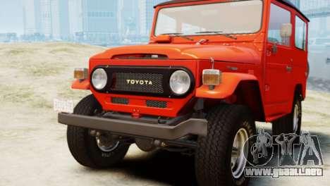 Toyota FJ40 Land Cruiser 1978 Beta para GTA 4