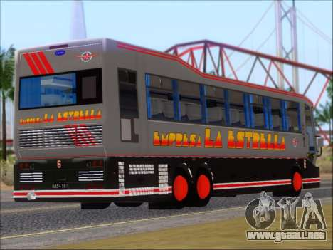 San Antonio Augusto - Empresa La Estrella para GTA San Andreas vista posterior izquierda