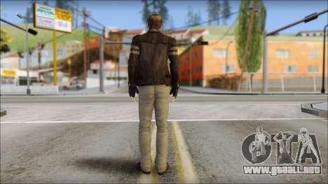 Leon Kennedy from Resident Evil 6 v3 para GTA San Andreas segunda pantalla