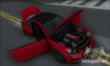 La superioridad Sentinel XS para las ruedas de GTA San Andreas