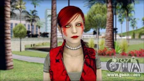 Rock Chicks Red Ped para GTA San Andreas tercera pantalla