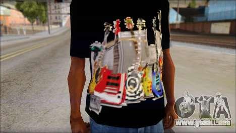 Guitar T-Shirt Mod v2 para GTA San Andreas tercera pantalla