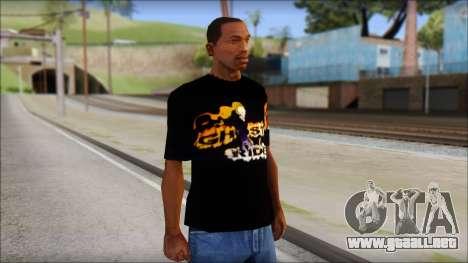 Ghost Rider T-Shirt para GTA San Andreas