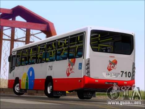 Neobus Mega IV - TCA (Araras) para vista inferior GTA San Andreas
