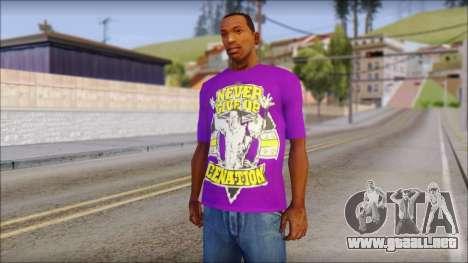 Paises Bajos Sneijder T-Shirt para GTA San Andreas