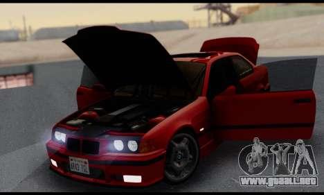 BMW M3 E36 1994 para la vista superior GTA San Andreas
