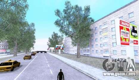 Russian Map 0.5 para GTA San Andreas tercera pantalla