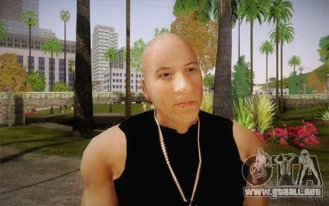 Domenic Toretto para GTA San Andreas tercera pantalla