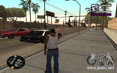 Hud by Videlka para GTA San Andreas segunda pantalla