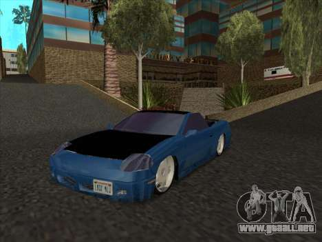 Alpha HD Cabrio para GTA San Andreas left