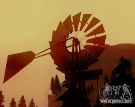 SA Ultimate Graphic Overhaul para GTA San Andreas octavo de pantalla