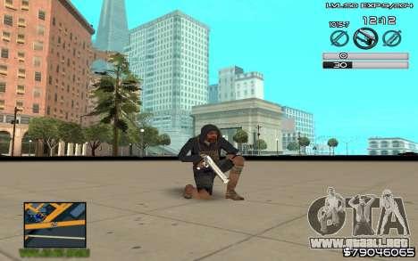 C-HUD by SampHack v.8 para GTA San Andreas tercera pantalla