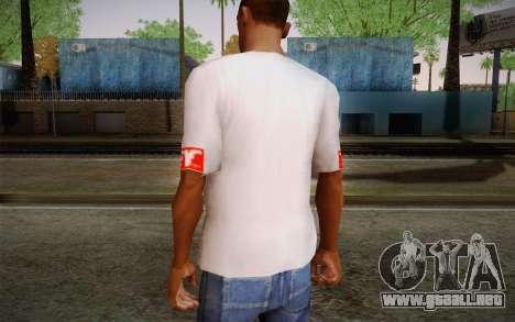 Obey Shirt para GTA San Andreas segunda pantalla