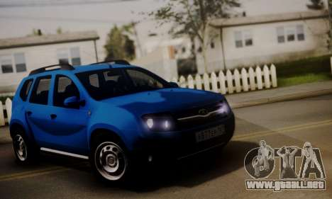 Lada Duster para GTA San Andreas left