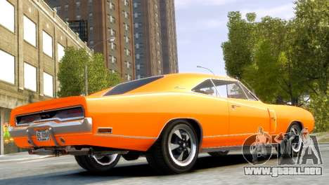 Dodge Charger RT 1970 para GTA 4 left