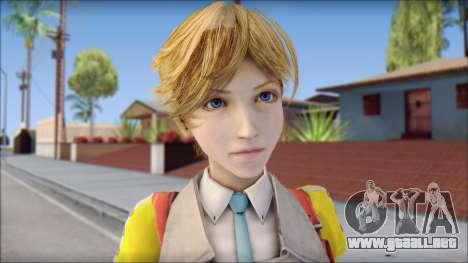 Final Fantasy XIII - Alyssa para GTA San Andreas tercera pantalla