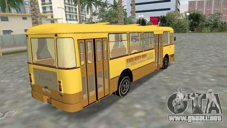 LiAZ 677 para GTA Vice City left