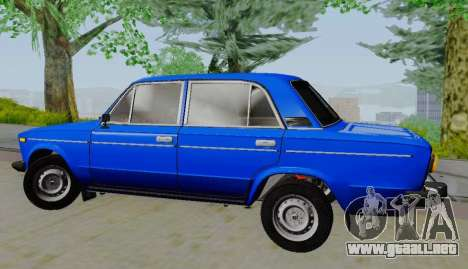 VAZ 21061 para GTA San Andreas left