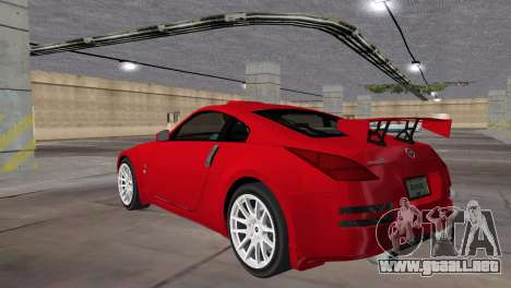 Nissan 350z Tuned para GTA Vice City left
