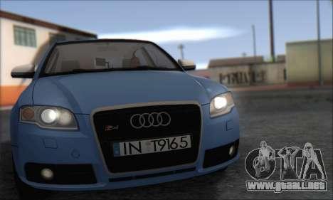 Audi S4 4.0 Quattro 2006 para GTA San Andreas left