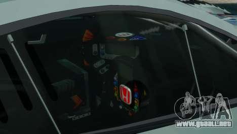 Honda HSV-010 GT para GTA 4 Vista posterior izquierda