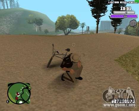 C-HUD by Weezy para GTA San Andreas sucesivamente de pantalla