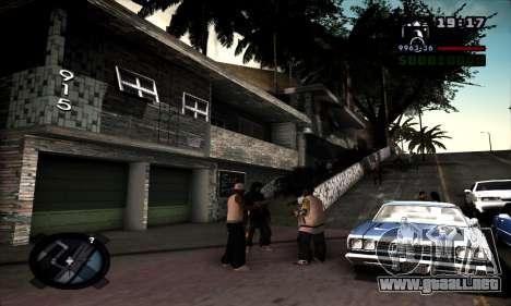 Ghetto ENB para GTA San Andreas segunda pantalla