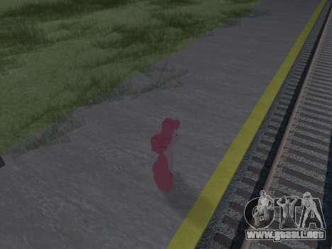 Pinkie Pie para GTA San Andreas tercera pantalla