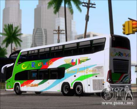 Marcopolo Paradiso G7 1800 DD 6x2 Scania K420 para la visión correcta GTA San Andreas