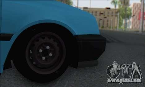 Volksvagen Golf Mk3 para la visión correcta GTA San Andreas