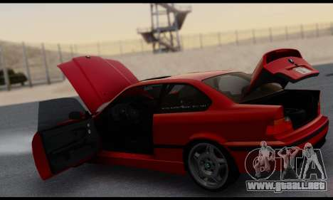BMW M3 E36 1994 para vista inferior GTA San Andreas