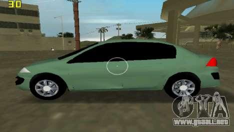 Renault Megane Sedan 2001 para GTA Vice City left