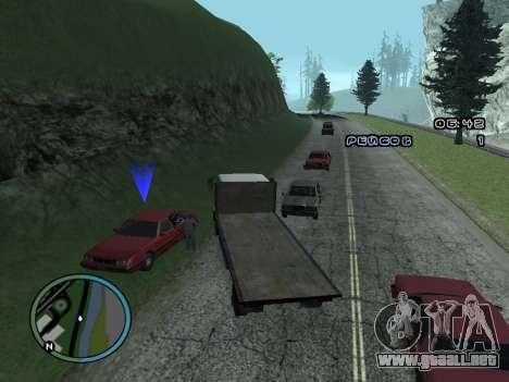 Evacuador de v1.0 para GTA San Andreas quinta pantalla