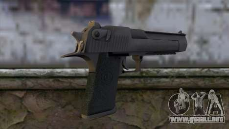 Desert Eagle from CS:GO v2 para GTA San Andreas segunda pantalla