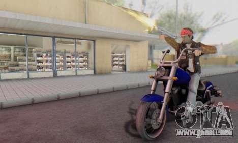 Biker A7X 2 para GTA San Andreas quinta pantalla