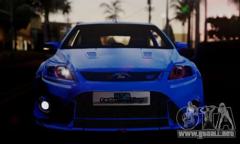 Ford Focus RS 2009 para GTA San Andreas left