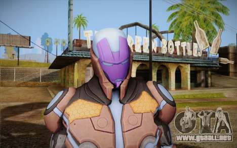 Living Laser Skin para GTA San Andreas tercera pantalla