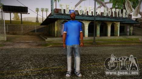 Sweet Blue Skin para GTA San Andreas