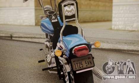 Harley-Davidson FXSTS Springer Softail para la visión correcta GTA San Andreas