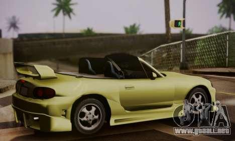 Mazda MX5 DUB para GTA San Andreas left