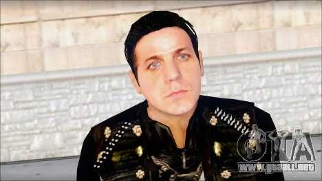 Till Lindemann Skin para GTA San Andreas tercera pantalla