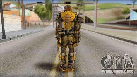 Exoskeleton para GTA San Andreas segunda pantalla