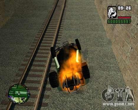 El golpe de estado para GTA San Andreas