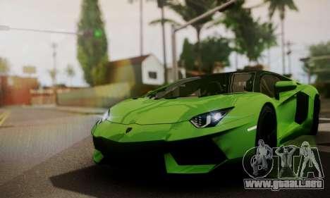 Lamborghini Aventador TT Ultimate Edition para visión interna GTA San Andreas