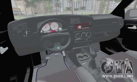 Volksvagen Golf Mk3 para GTA San Andreas vista hacia atrás