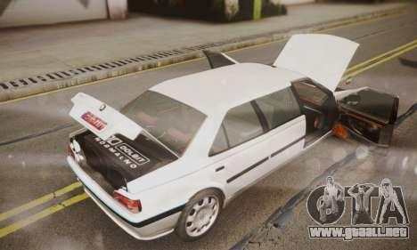 Peugeot Pars Limouzine para visión interna GTA San Andreas