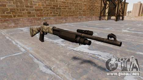 Ружье Benelli M3 Super 90 benjamins para GTA 4