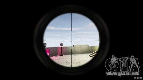 Sniper mod: Realism para GTA San Andreas