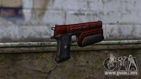 Infinity EX2 Red from CSO NST para GTA San Andreas segunda pantalla