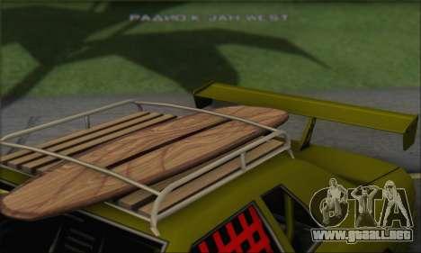 Doktor Style Elegy para GTA San Andreas vista hacia atrás